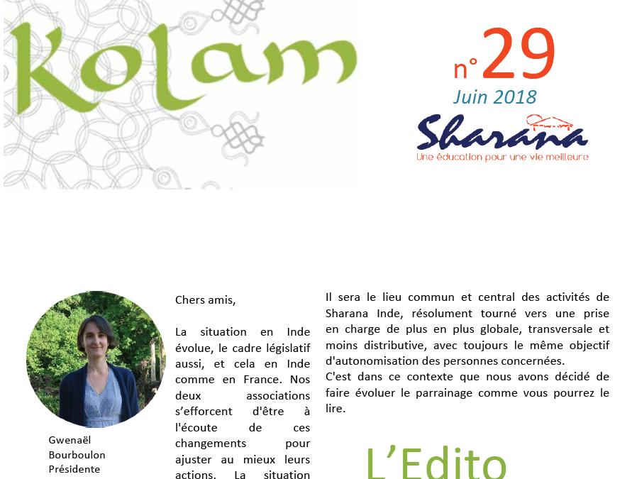 Journal «Kolam» n°29