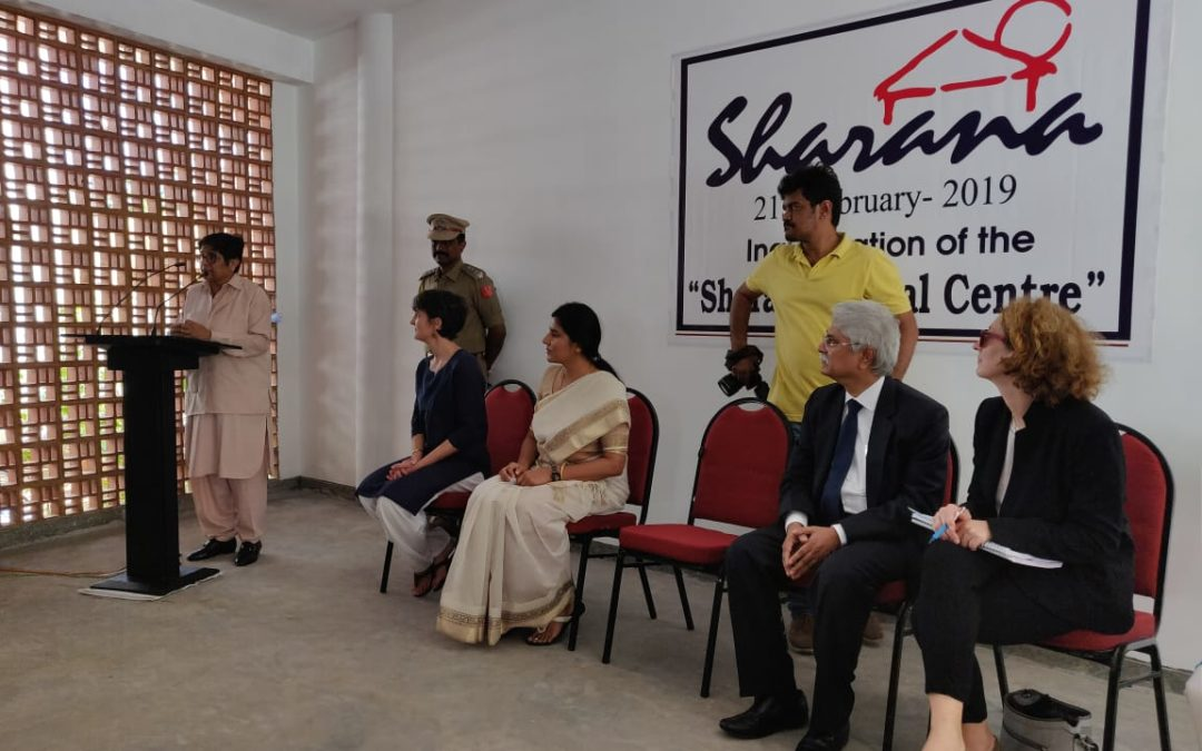 La Maison Sharana : Inauguration du bâtiment
