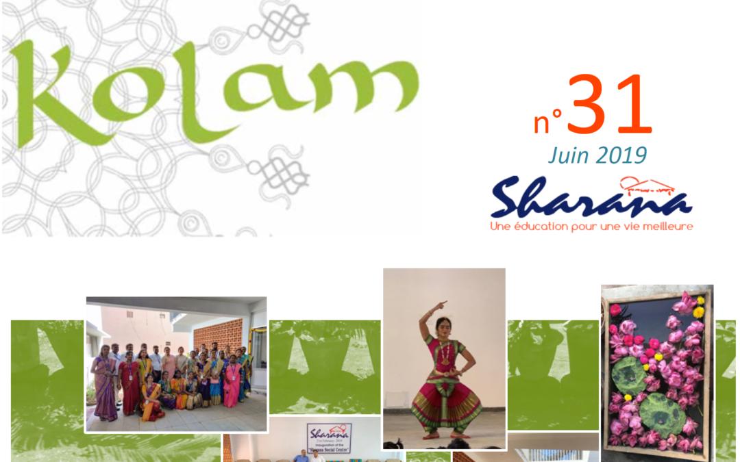 Journal «Kolam» n°31