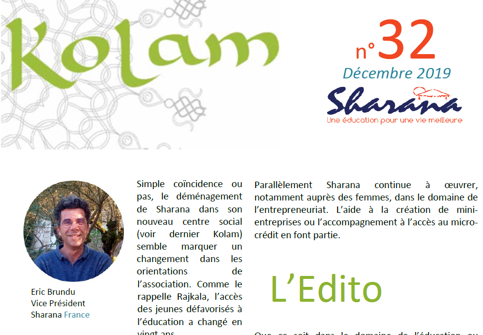 Journal «Kolam» n°32