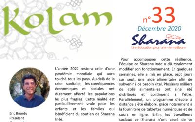 Journal «Kolam» n°33